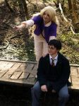 Harry and Luna Cosplay - Blibbering Humdingers by HyperLittleNori