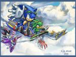 Sonic Riders- dragon formation by NetRaptor