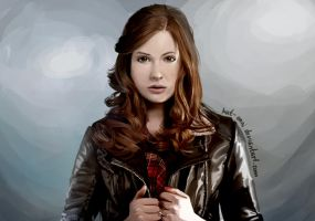 Amy Pond by Kat-Anni