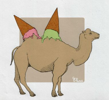 IceCream Camel by YueChan