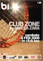 flyer Club TAO - ClubZone by semaca2005