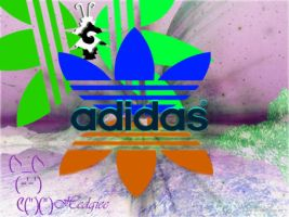 Adidas Butterfly by hedgiee