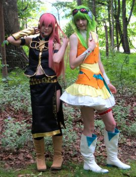 Vocaloid - Luka and Gumi by Chocobogirl12