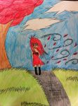 That Red Hair Girl by JustMiracleZ