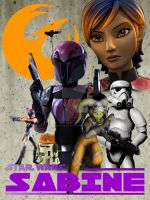STAR WARS: Sabine by AaronFrazier