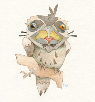 Tawny Frogmouth by WonderDookie