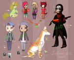 Leftover/OC Adopts- FINALLY CLOSED THANK HEAVENS!! by Mouseleaf