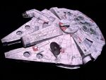 Millenium Falcon Papercraft by KingHyren