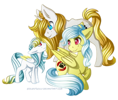 Golden Family by SilentWulv