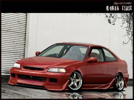 Honda Civic Shmoov-Kit by erosofod