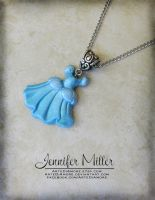 Cinderella's Ball Gown Pendant by ArteDiAmore