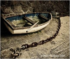 Boat and Chain by Photo-Joker