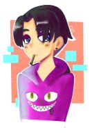 Rivaille is a cool kid by dinosauriomutante