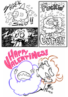 Happy Valentines Day by MikeBasilisco