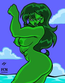 She-Hulk Show-off colors by FCM-NileSnake