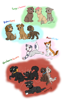 Third Generation PAW Patrol by Musicalmutt2