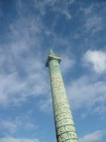 Place Vendome Column by Funyarinpa