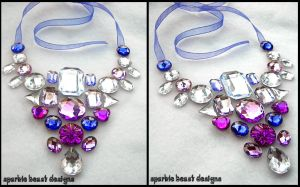 Purple Passion Necklace by Natalie526