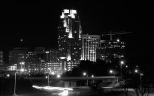 Raleigh Skyline Wallpaper by lizaro