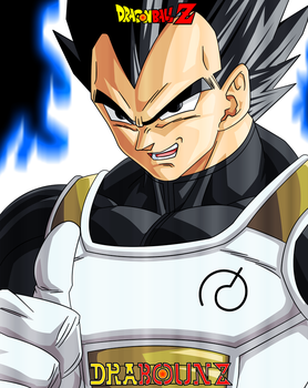 I am ultra vegeta by DrabounZ
