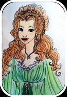 Margaery Tyrell - colored work doodle by trishna87