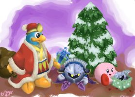 Very Kirby Christmas to You by MagicalGirlYossy