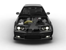 BMW E36 325i black by bmw325ci