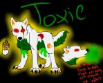 Toxic ref sheet!! by iW-O-L-F