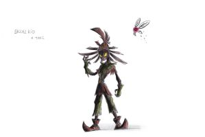 Skull Kid and Tael by QuynzeL
