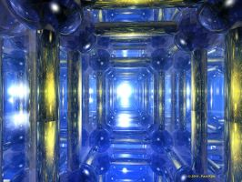 Inside the polycubitane by fractalyst
