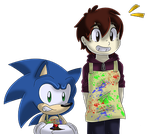 Art and Design Is A Fun Subject -Sonic- by SoS-Fanatic