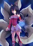 League of Legends- Ahri by Maya-nyan
