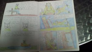 Time Wolf Issue 1 Page 1 by ewan4me