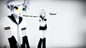 [MMD] Where Is The Exit? by MewMewKittyMewMew