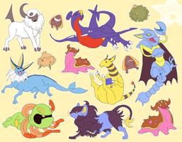 yay pokemons by edface