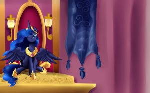 Princess Luna is best Celestia by pridark