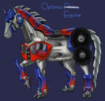 Contest Entry - Optimus Prime by agra19
