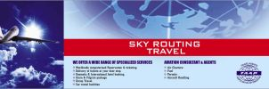 Sky routing travel ticket box by aa3