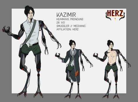 FG - Kazimir ref by ghoul-king