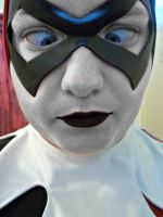 Harley Quinn Cosplay Face View #2 by SchaefersWar