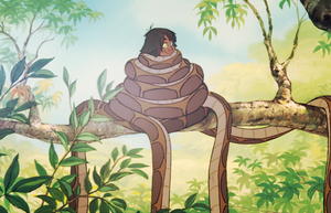 happy mowgli by thiswaslost