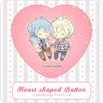 Hanami CleAo // Heart-shaped Button by Yumicchie