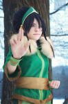 Toph - Winter Earth Bending by TophWei
