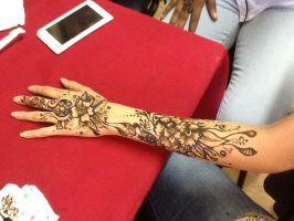 Mehndi / henna art by morbidkiss91