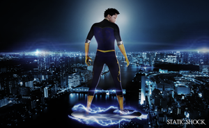 watchig over the city (static shock) by robert-man