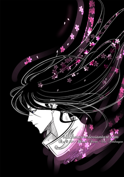Byakuya ..::Scatter::.. by blackstorm