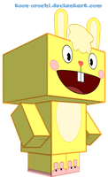 Cuddles cubeecraft by Toon-Orochi