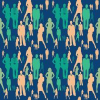 People Pattern unique by amdillon