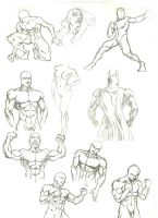 Anatomy Study 1 by marvelmania