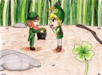 Happy St. Patrick's day by Marluxialover11